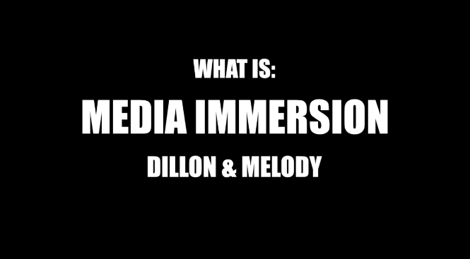 What is Media Immersion?